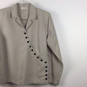 Vintage Buttoned Blouse